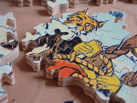 Handmade Jigsaw Puzzles - handmade jigsaw puzzle makeably