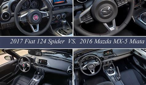 fiat spider vs miata fiat 124 spider vs mazda mx 5 miata picture 656898