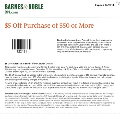 Email Barnes And Noble barnes and noble coupon thread part 2 dvd talk forum