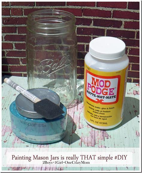 acrylic painting jars painting a jar isn t that at all diy 2 boys