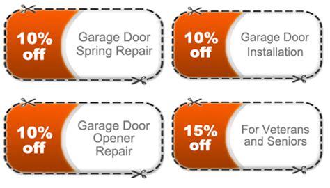 Garage Door Repair Ta Fl by Coupons The Garage Door Repair Fl
