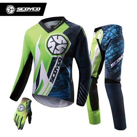 professional motocross racing scoyco professional motocross racing jersey full finger