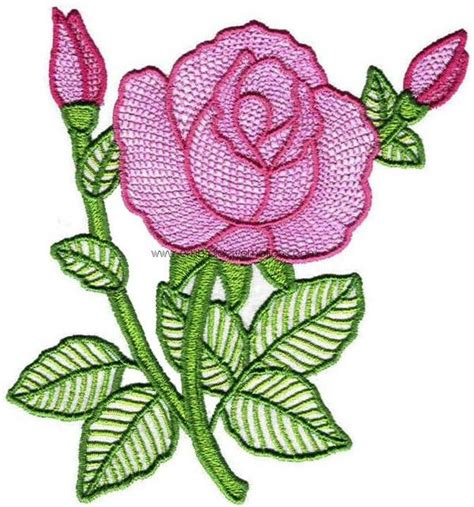 Free Handmade Embroidery Designs - 35 free embroidery flower designs embroidery