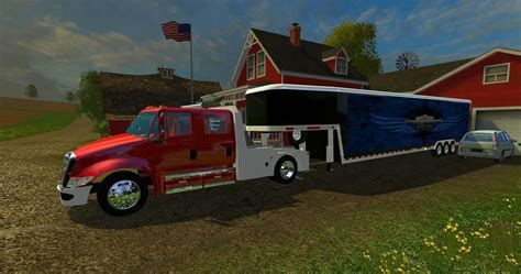 Truck Ls by Truck Trailer Combo V1 Ls 15 Farming Simulator 2015