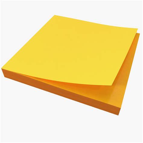 Sticky Notes 3d sticky notes