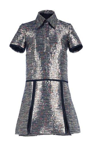 Rodnik Ludovico Jacquard Dress A Shirt Dress With A Difference by Floral Jacquard Shirt Dress By Burberry Moda Operandi