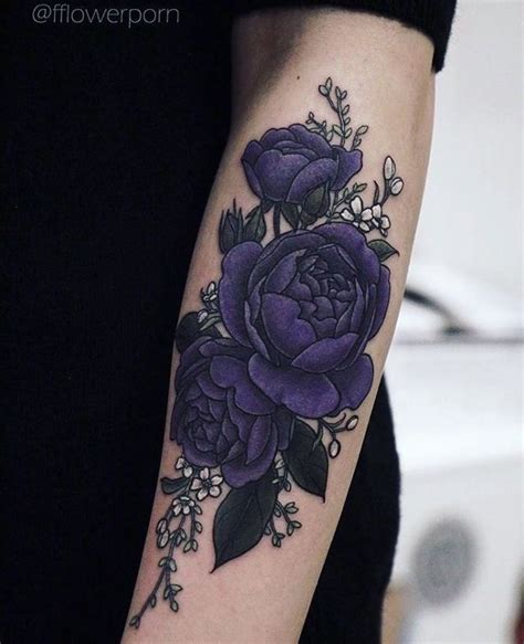 purple tattoo 17 best ideas about purple flower tattoos on pinterest