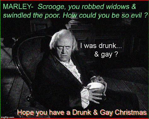 Gay Christmas Memes - scrooge imgflip