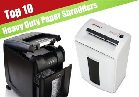 best shredders the top 10 best reviewed commercial paper shredders