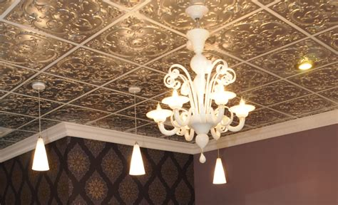 How To Make Faux Tin Ceiling Tiles by Alhambra Faux Tin Ceiling Tile 24 Quot X24 Quot 217