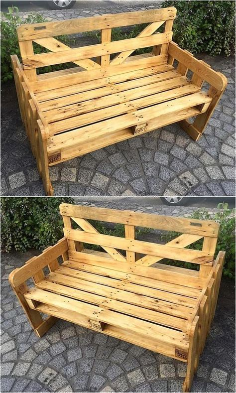 pallet benches pinterest 146 best pallet benches images on pinterest pallet