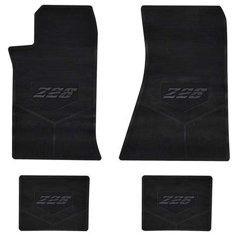 Z28 Floor Mats by 1991 Chevrolet Camaro Parts Interior Soft Goods Carpet