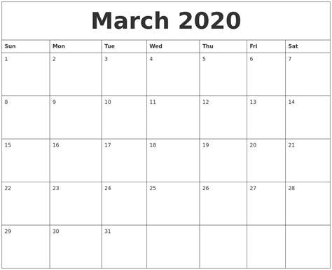 january 2020 calendar templates free