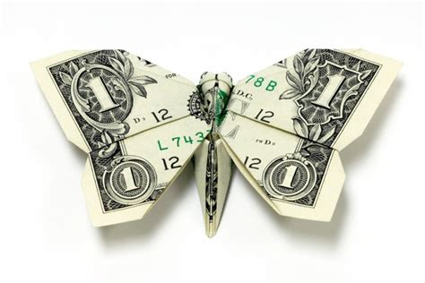 Make Money Origami - money origami ignant