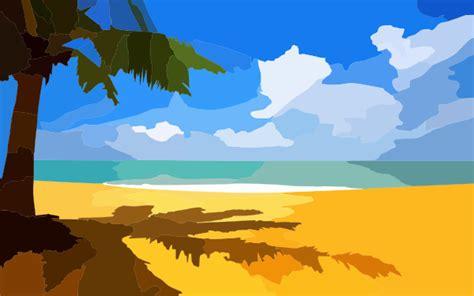 beach clip art  clkercom vector clip art