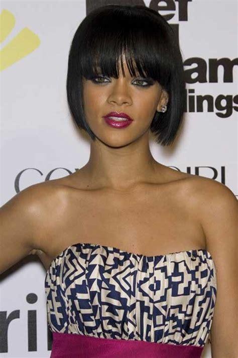 Rihanna Bob Hairstyle by 15 Best Rihanna Bob Haircuts Bob Hairstyles 2017