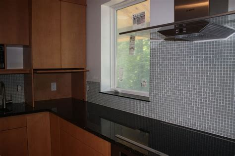 installing backsplash kitchen installing protective glass backsplash tile randy