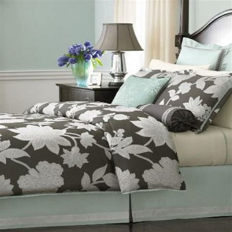 martha stewart chantilly king 24 piece comforter bed in a