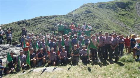 monte camino biella no monte camino per gli alpini raduno al lago mucrone