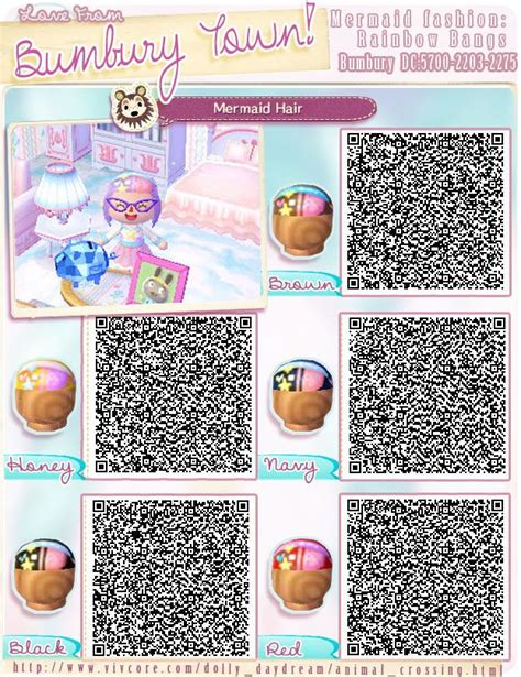 acnl hair braid qr animal crossing new leaf qr codes link hat www imgkid