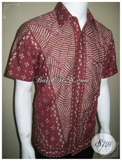 Kemeja Batik Sogan Milo kemeja batik tulis anak muda terkini harga berkelas elegan eksklusif ld188t m toko batik