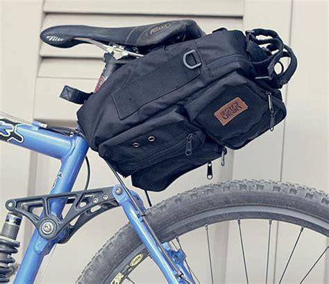 Tas Sepeda Touring Bagasi Pannier Trunk Bag Bandung 1502 Hitam urbn cfd bag