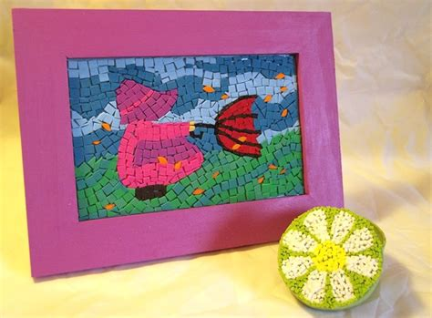 craft things to do with things to make and do craft foam mosaics