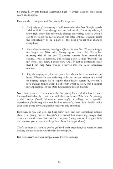 cover letter why i want the cover letter guide