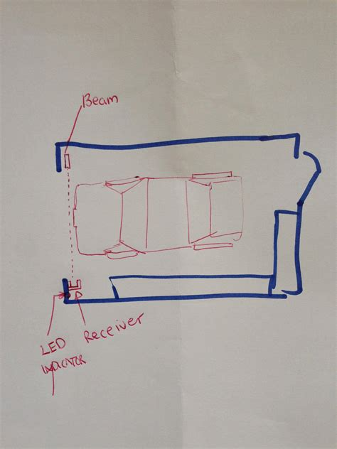 Garage Door Laser Sensor Led How Can I Make A Garage Door Laser Sensor Arduino