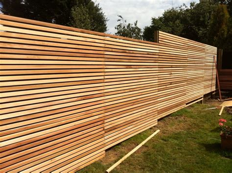 landscape layout horizontal different woven and horizontal fence panels peiranos