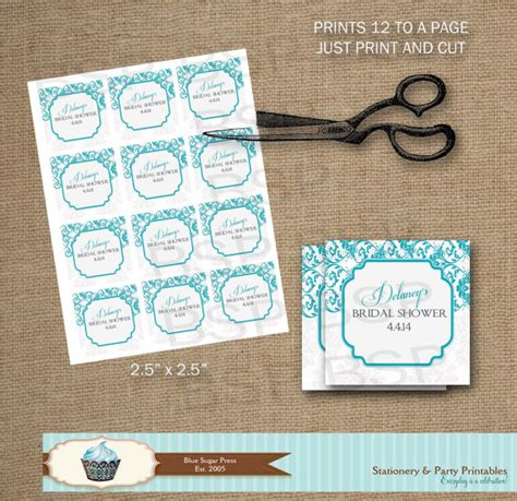 printable tags bridal shower 4 best images of free printable bridal shower gift tags