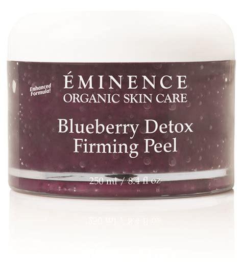 Eminence Blueberry Detox Peel by Eminence Organics Blueberry Detox Firming Peel Naturally