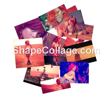 Collagen Sinensa shape collage cinema
