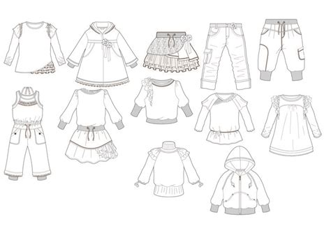 Design Clothes Template by Clothestemplate 点力图库