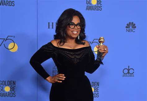 oprah winfrey journalist oprah winfrey s golden globes speech inspires millions