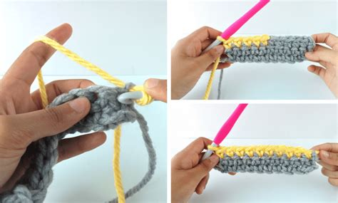 crochet how to change colors crochet 101 how to change colors