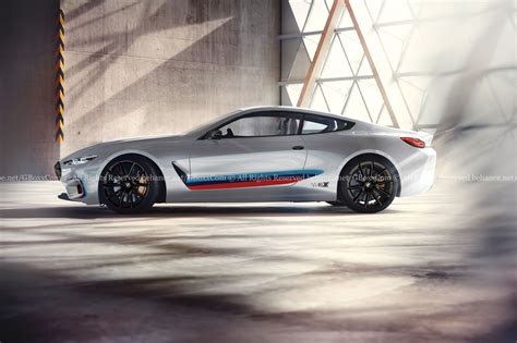 bmw in bmw m8 gets rendered into production guise carscoops