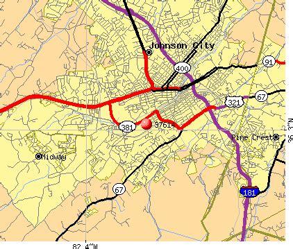 Zip Code Map Johnson City Tn | johnson city tn zip code map zip code map