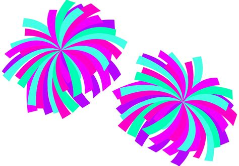 Free Pompom by Pom Poms Vector Free Vector Stock Graphics
