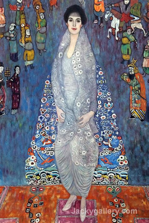 La Klimt by Gustav Klimt Paintings Reproductions Cheap And
