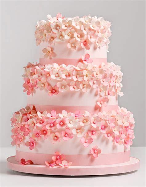 Hochzeitstorte Rosa by 2013 Trend Report Pink Wedding Cakes
