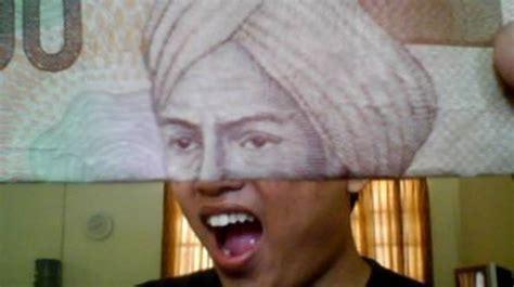 kumpulan gambar uang lucu bikin ngakak terbaru