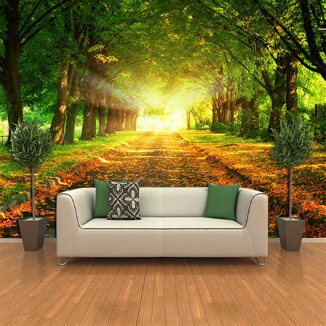room decals for 3d nature wall decals for living room home interior design ideas