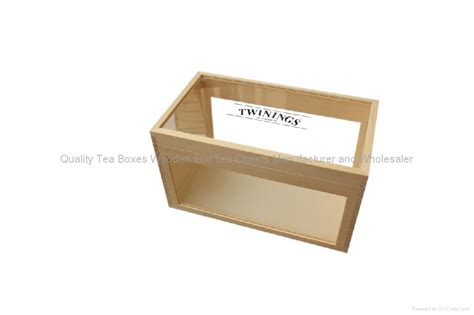 Handmade Wood Products - handmade wooden tea boxes with clear top ex w0218 china