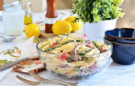 asparagus pasta salad with creamy lemon dressing tidymom asparagus pasta salad with creamy lemon dressing tidymom