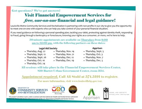 free one on one financial and guidance available at