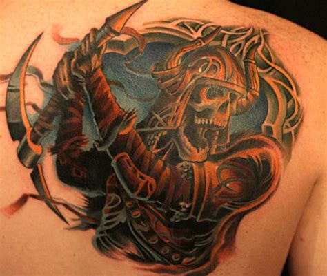 tattoo nightmares winner tommy helm s final tattoo off of inkmasters i think he