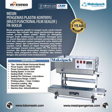 Sealer Murah jual mesin continuous sealer band berkualitas murah toko