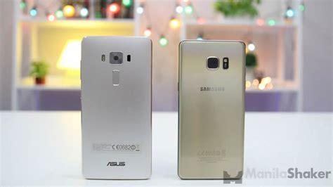 Samsung Zenfone 7 asus zenfone 3 deluxe vs samsung galaxy note 7 2 of 8