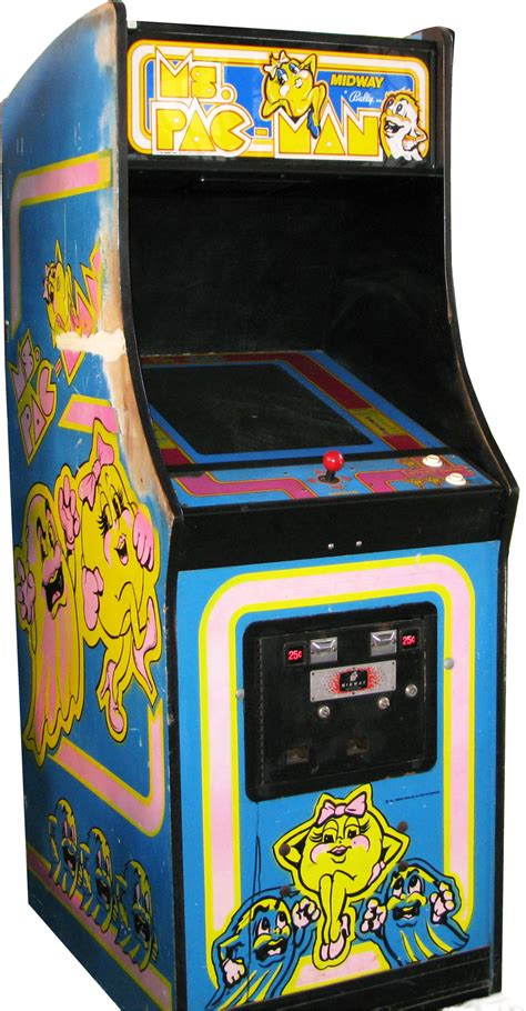 pac arcade cabinet ms pac